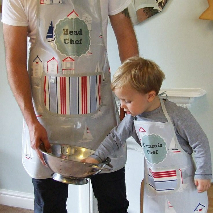Beaucoup de variante en photos de votre tablier personnalis - Tablier de cuisine enfant ...