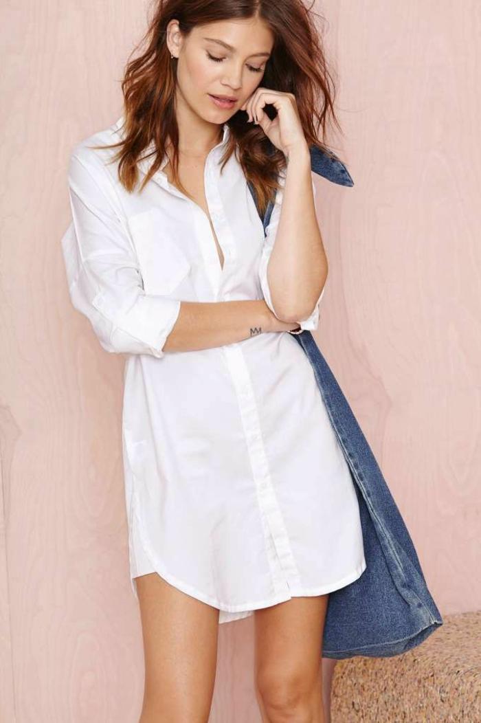 La robe chemise est une tendance incontestée pour l été 2015! 6a32ad4ae4c8
