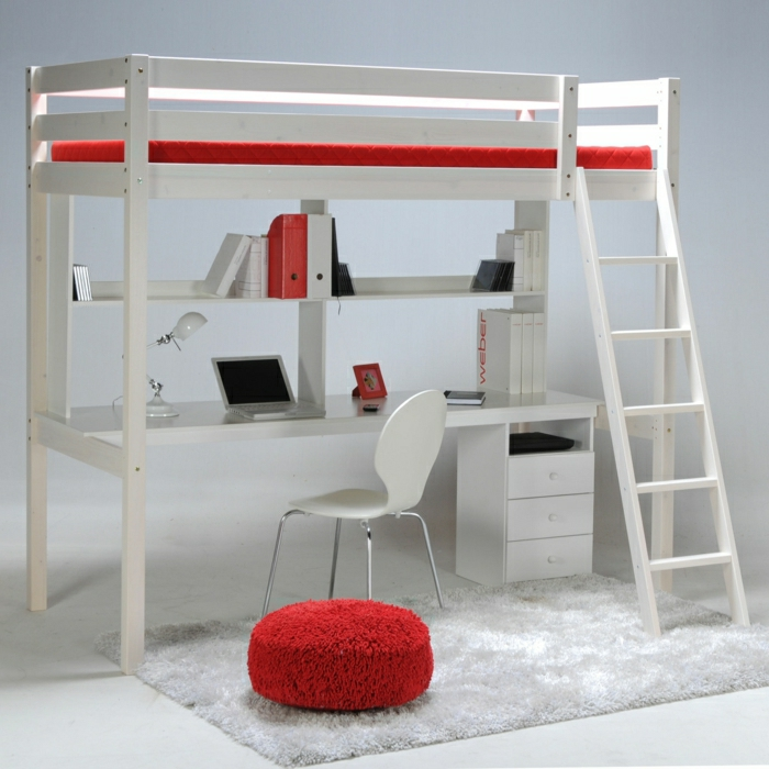 Le lit mezzanine ou le lit superspos quelle variante choisir for Photo lit mezzanine