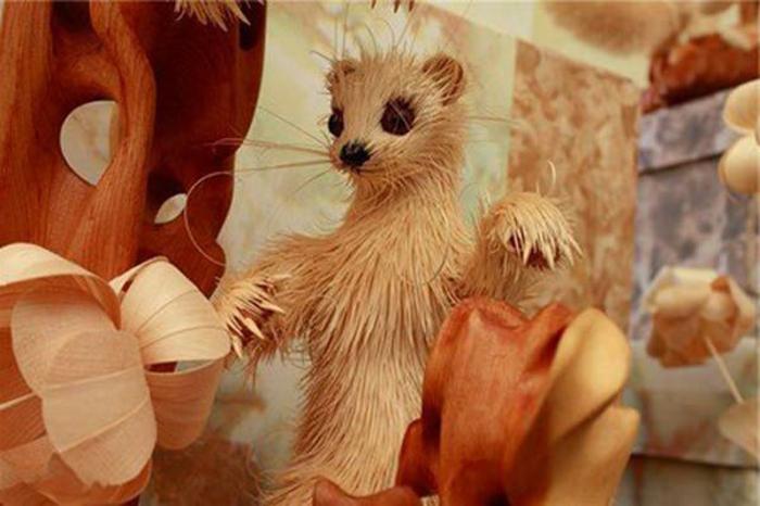 Animal-sculpture-sur-bois-les-animaux-en-bois