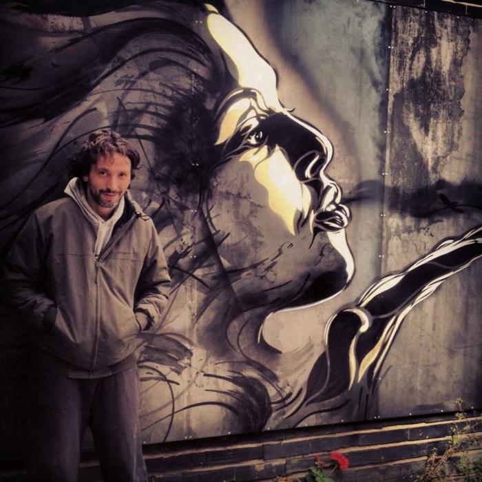 Art-urbain-C215-street-artiste-l-artiste-et-sa-fille