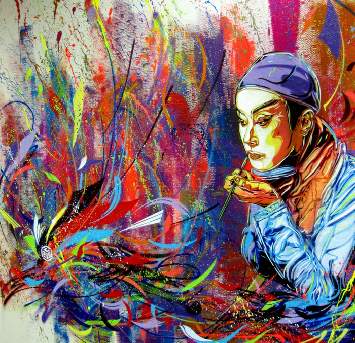 Art-urbain-C215-street-artiste-les-couleurs-design