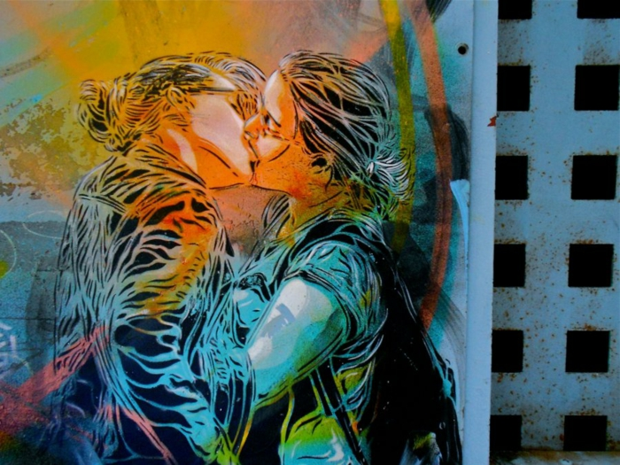 Art-urbain-C215-street-artiste-sujet-amour-coleur