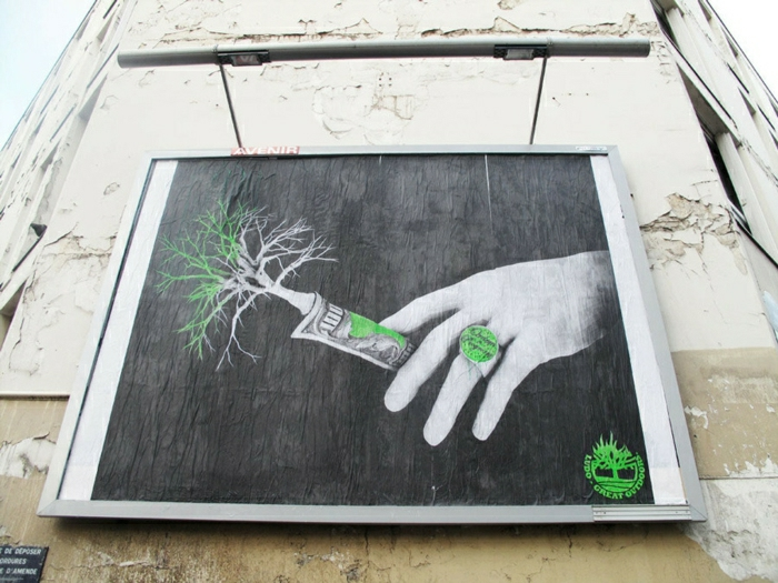 ludo street art  Artiste-urbain-pochoiriste-Ludo-Great-dehors-Paris