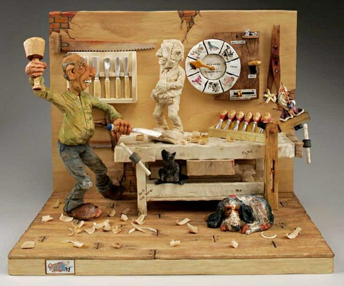 Caricature-Carving-by-Phil-Bishop-cool-idée-amusant-sculpture-sur-bois-resized