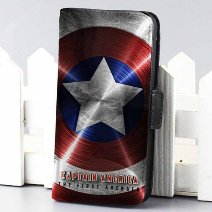 Coque-iphone-5s-personnalisée-le-capitan-américa