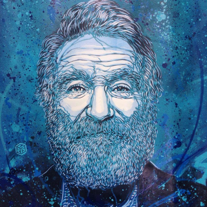 Graffiti-technique-pochoir-street-art-C215-portrait-old-man