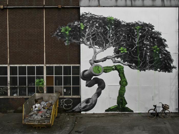 L'art-de-la-rue-chefs-d'oeuvres-un-arbre-technologisé