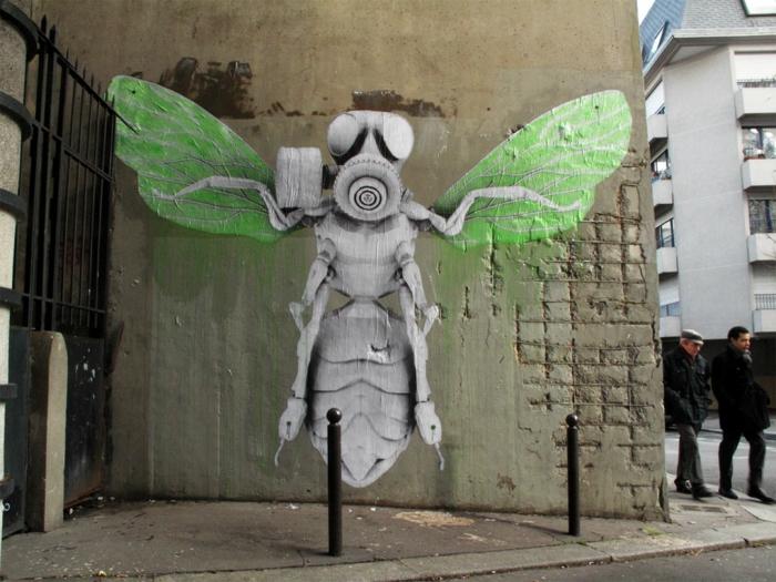 L'art-de-la-rue-chefs-d'oeuvres-un-artiste-urbain-pochoiriste
