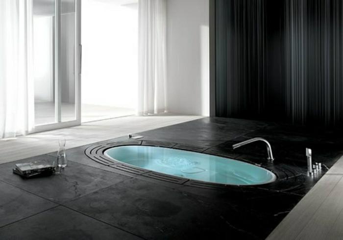 Faites vous le plaisir de la baignoire jacuzzi! - Archzine.fr