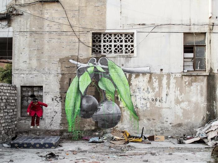 Ludo-street-art-magnifique-nature-idée-originale
