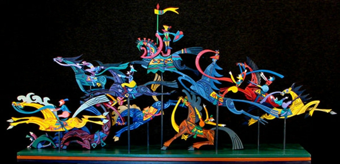 Moveable-Sculpture-by-Werner-Arnold-idée-créative-sculpture-en-bois