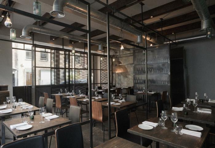 Meuble style industriel les meilleurs pour votre int rieur for Deco restaurant design