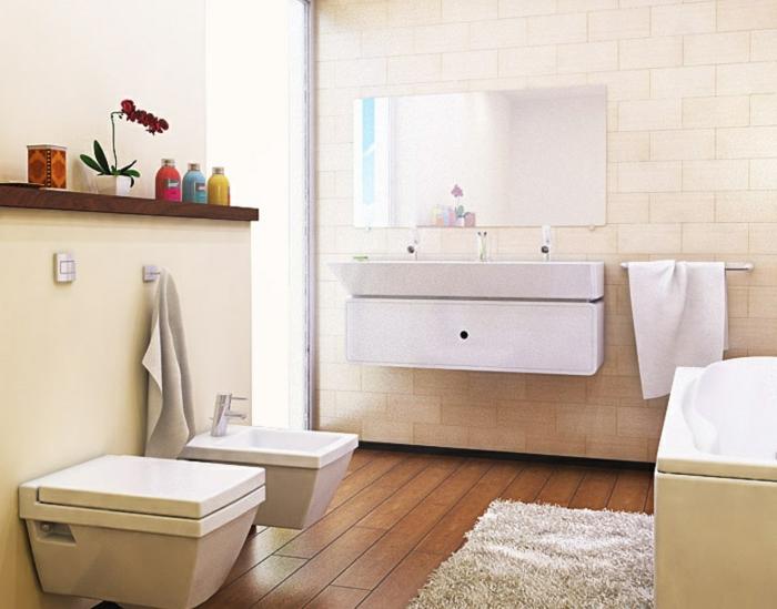 Salon-couleur-cappuccino-aménagement-salle-de-bain