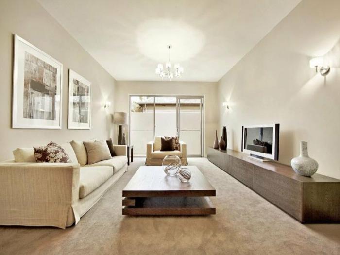 Comment incorporer la couleur cappuccino dans votre maison - Couleur design salon ...