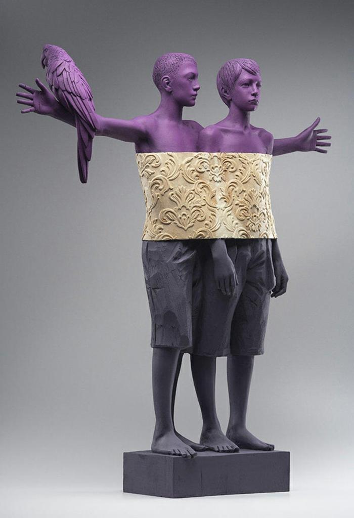 Sculptures-de-Willy-Verginer-ressemble-à-être-vivant