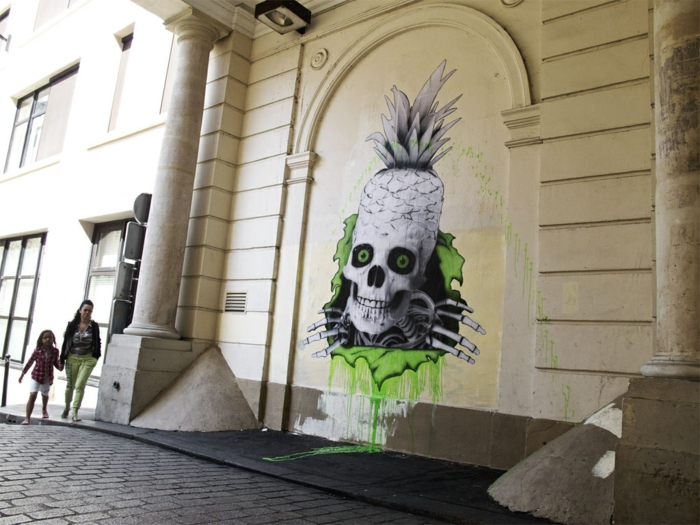Street-art-paris-artiste-célèbre-graffiti-ludo-street-art