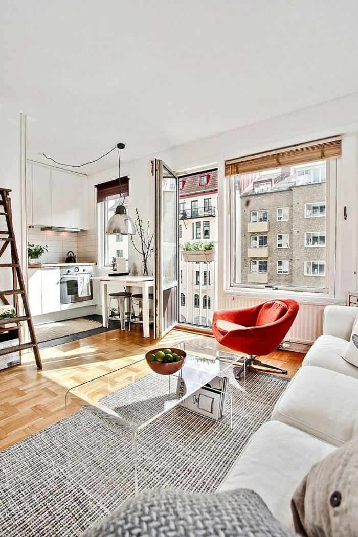 aménagement-de-cuisine-ouverte-joli-appartement-lumineux