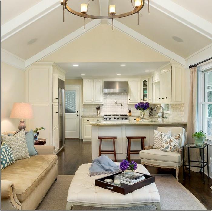aménagement-de-cuisine-ouverte-plan-ouvert-pour-les-petits-espaces