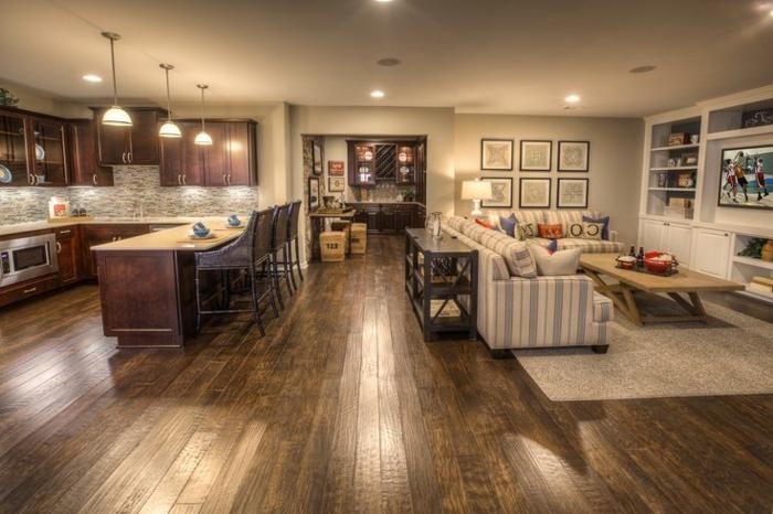 aménagement-de-cuisine-ouverte-sur-salle-de-séjour
