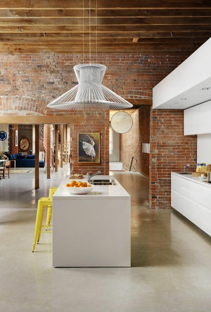 aménagement-de-cuisine-ouverte-un-loft-moderne