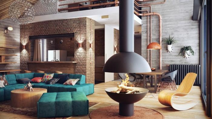 Meuble style industriel les meilleurs pour votre - Meuble salon style industriel ...