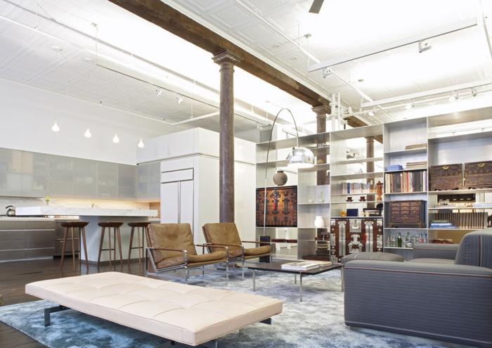 appartement-new-yorkais-chic-loft-vaste-blanc-indu