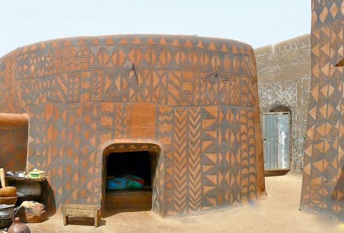 architecture-vernaculaire-bâtiment-africain