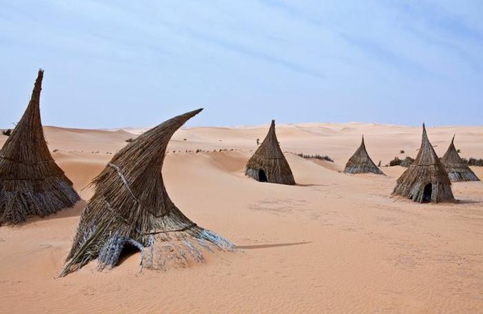 architecture-vernaculaire-maisons-des-touaregs-Libie
