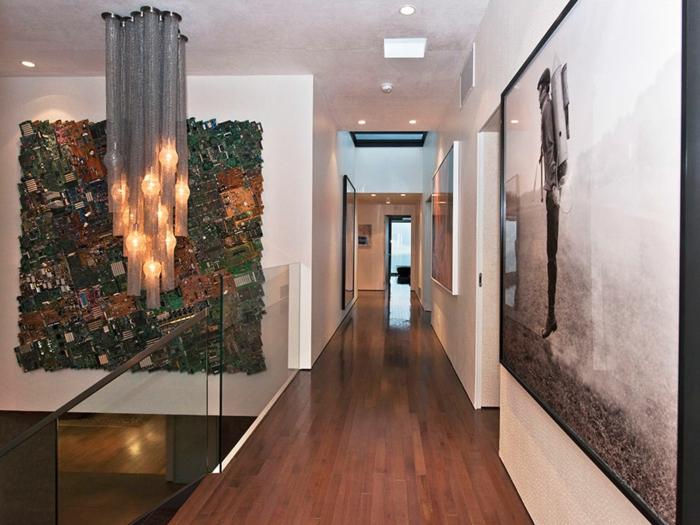 art-abstrait-couloir-d'hôtel-moderne-grand-tableu-art-abstrait