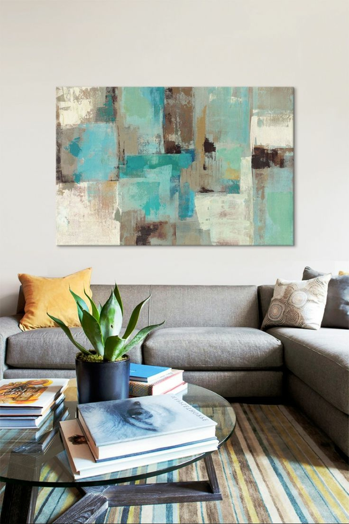art-abstrait-peinture-art-abstrait-sofa-sectionné