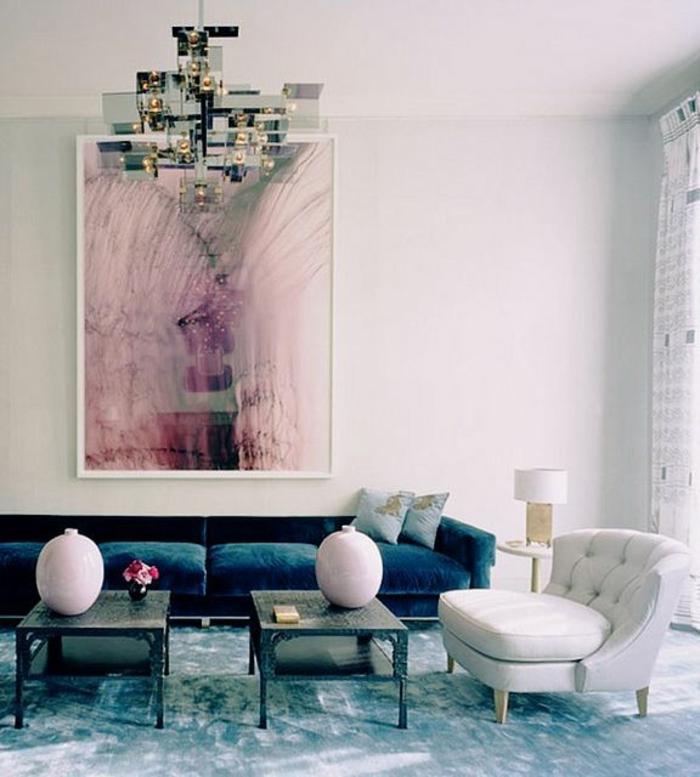 art-abstrait-salle-de-séjour-art-abstrait-peinture