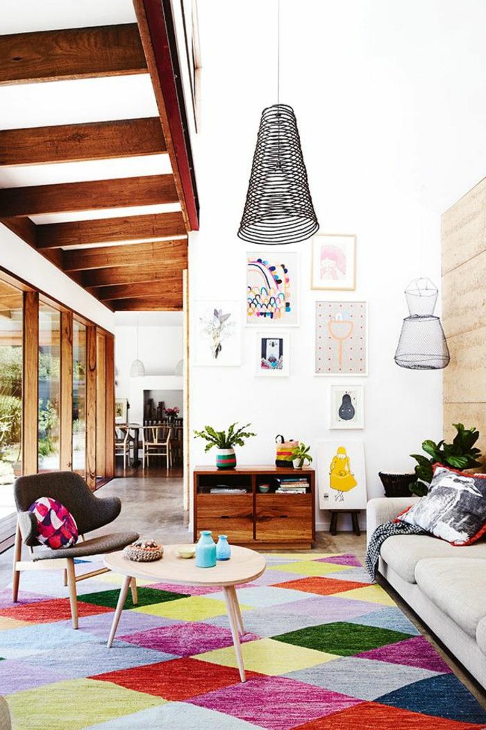 art-abstrait-tableaux-peinture-abstraits-jolie-salle-de-séjour