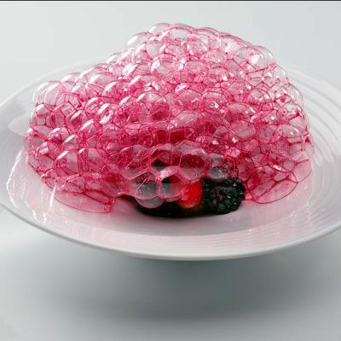 assiette-de-présentation-écume-rose