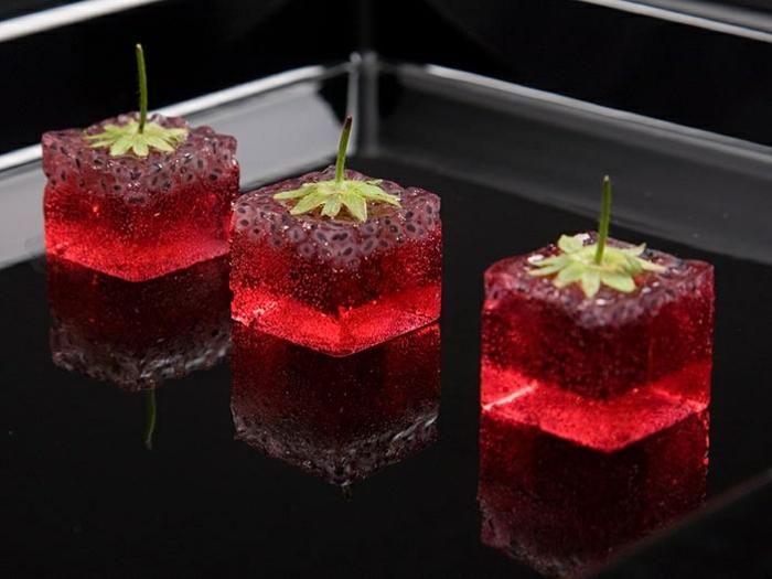 assiette-de-présentation-cubes-gelés