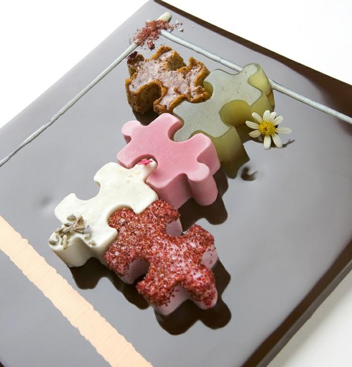 assiette-de-présentation-plat-en-forme-de-puzzle