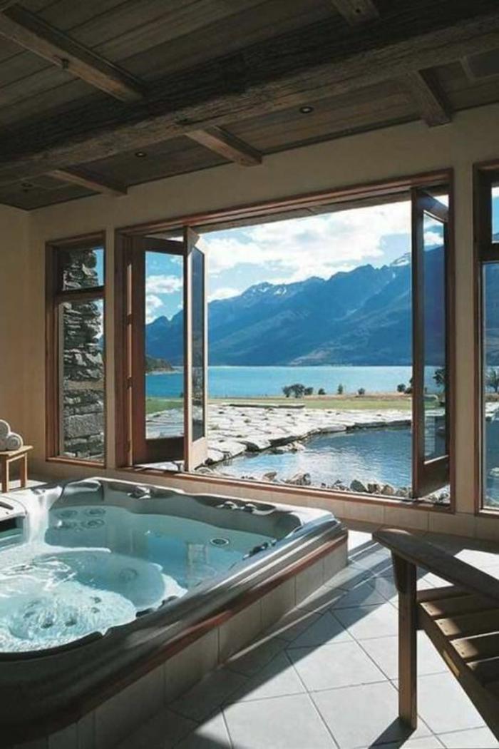 baignoir-jacuzzi-baignoire-angle-balnéo-design-moderne-les-montagnes-vue