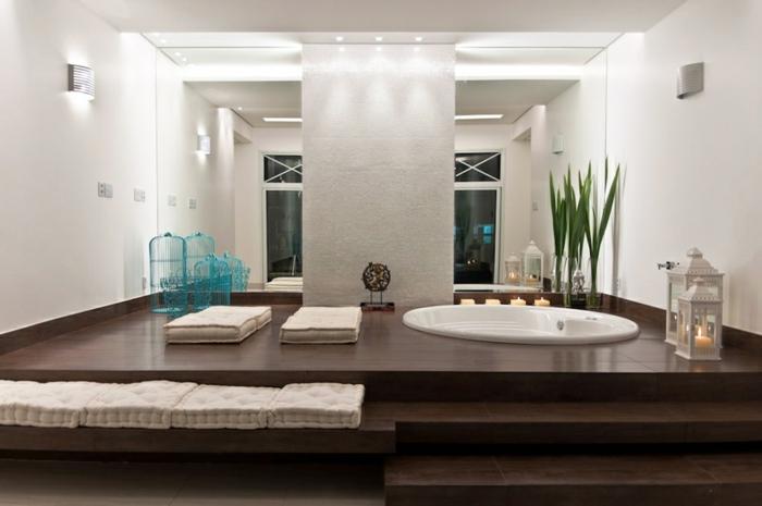 Grande Baignoire Ronde : Faites vous le plaisir de la baignoire jacuzzi archzine