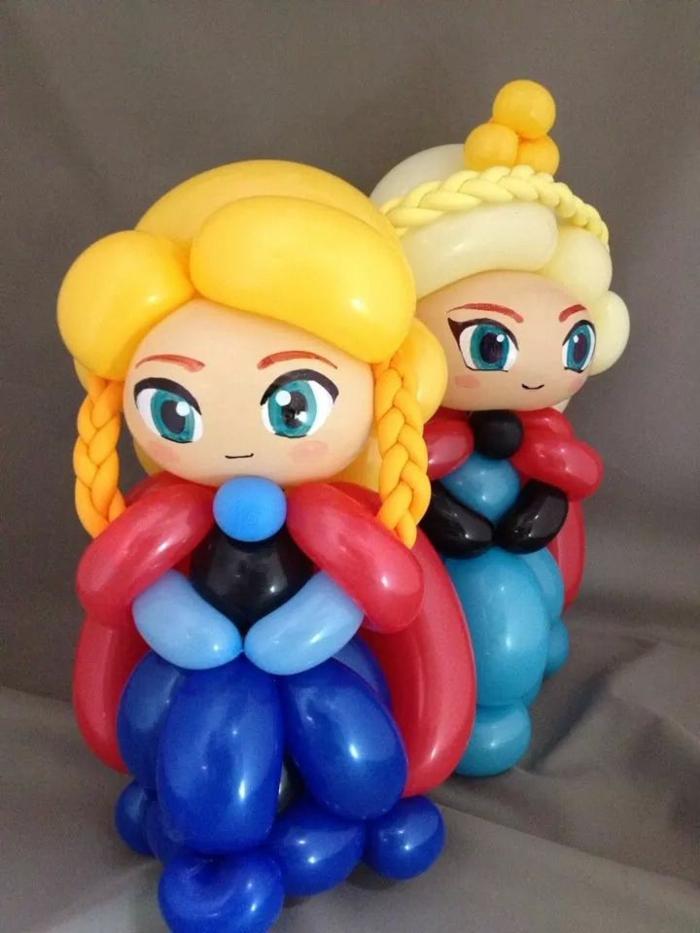 ballon-a-modeler-sculpture-ballon-animaux-des-poupée