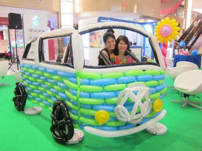 ballon-a-modeler-sculpture-ballon-animaux-voiture-volkswagen