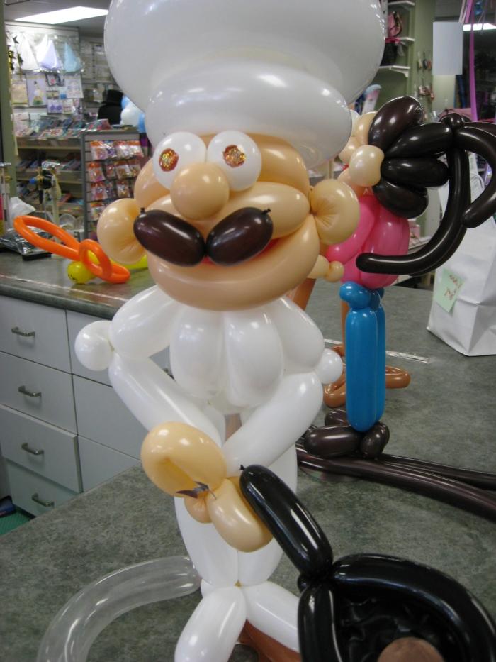 ballon-a-sculpter-sculpture-sur-ballon-le-chef-sur-ballon-sculpture sur ballons