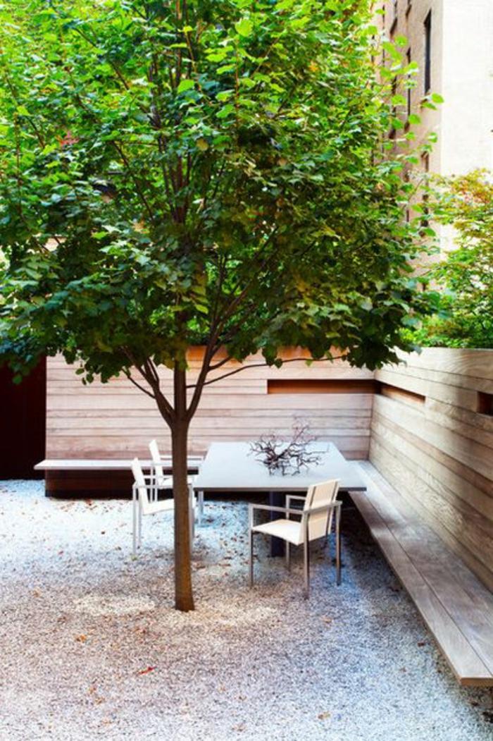 Voici nos exemples pour un banc de jardin for Ameublement de jardin