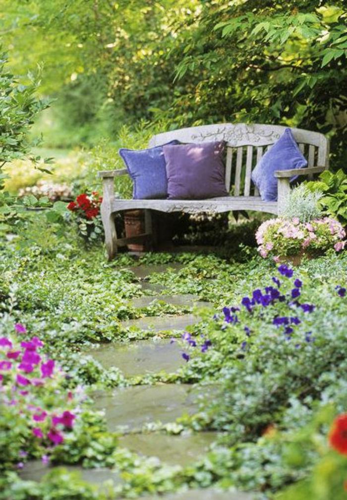 banc-d-extérieur-en-bois-banc-de-jardin-pas-cher-bois-vieux-mobilier-de-jardin-idee