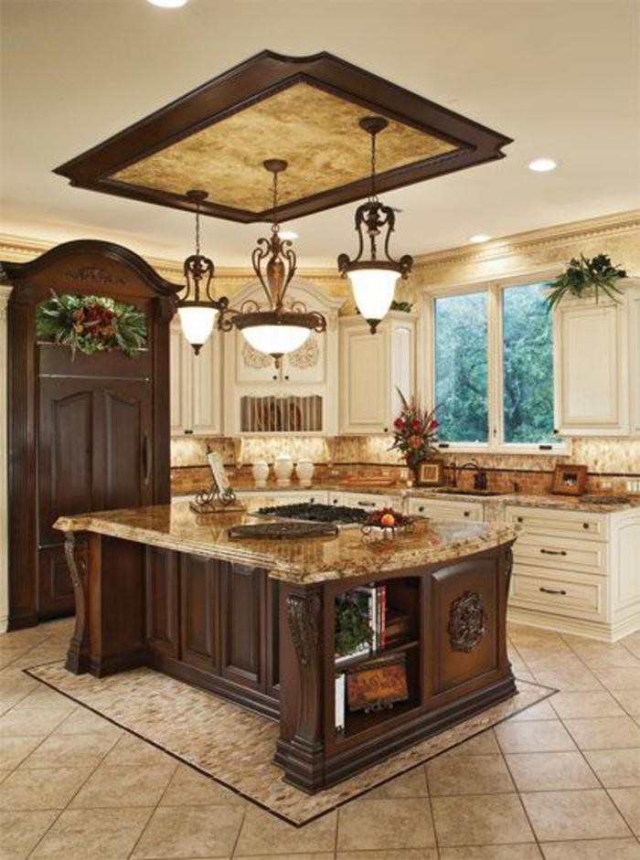 bar-de-cuisine-en-bois-massif-meuble-cuisine-bois-brut-foncé-cuisine-en-bois-massif