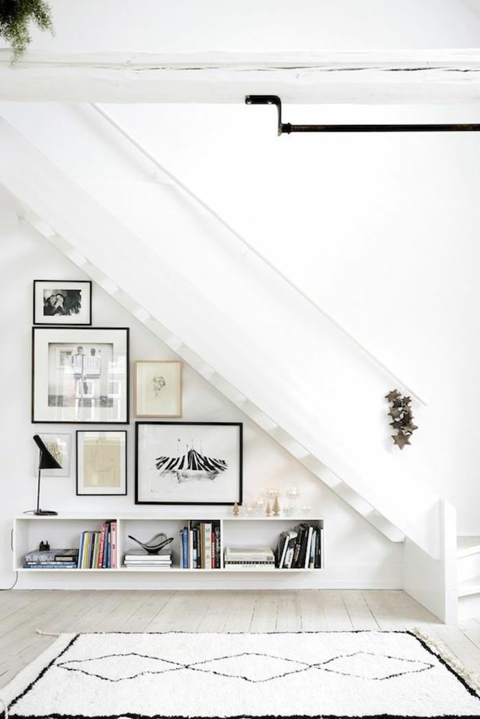 belle-etagère-escalier-meubles-sous-escalier-escalier-tiroir-meuble-chambre-blanche-peintures
