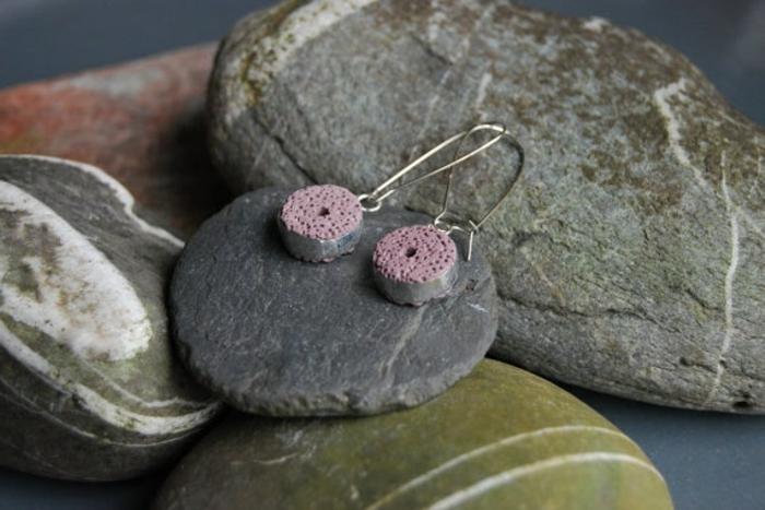 bijoux-avec-pierre-volcanique-boucles-d'oreilles-sympathiques