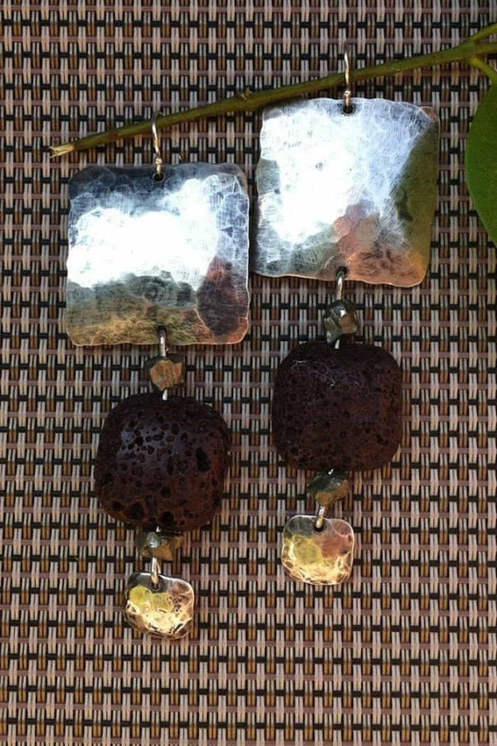 bijoux-avec-pierre-volcanique-noire-et-argent