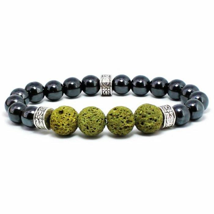 bijoux-avec-pierre-volcanique-verte-et-hématite