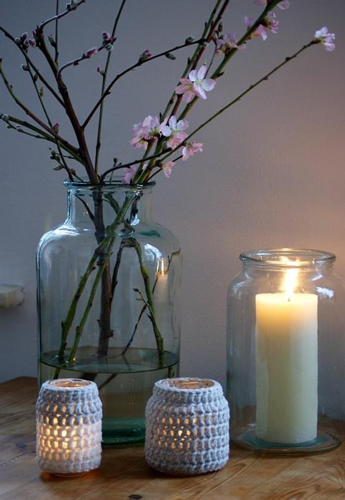 bougeoir-en-verre-idées-diy-chandelier-en-verre