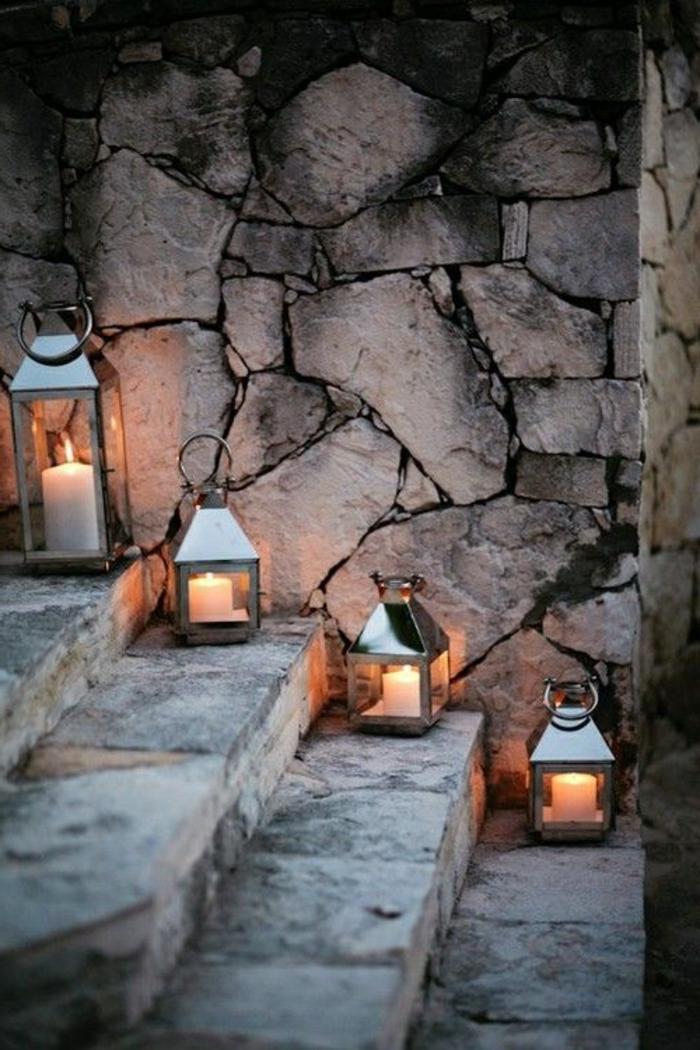 bougeoir-en-verre-jolie-déco-avec-lanternes-en-verre